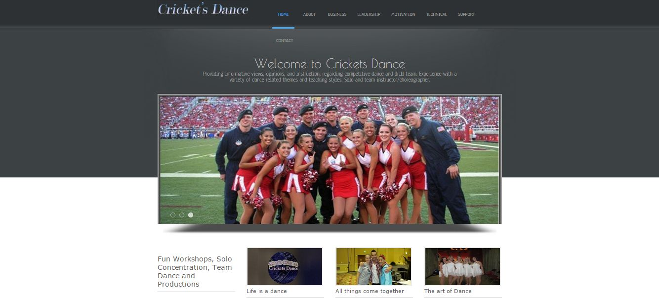 cdance-2 Creative Web Design